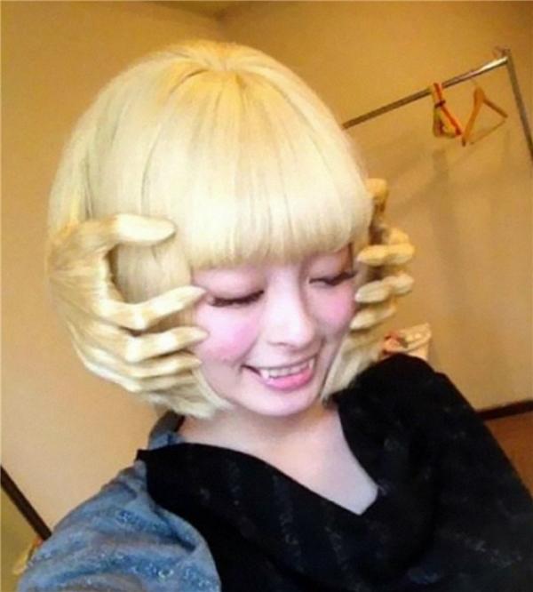 Mái tóc này thì có phần hơi rùng rợn nhỉ. (Ảnh: Internet)