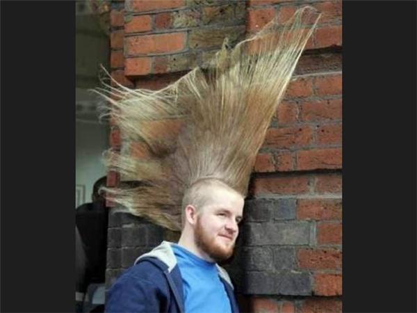 Chết cười với những kiểu tóc
