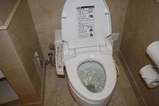 """Một nhà vệ sinh """"tối tân"""" điển hình. (Ảnh: Internet)"""