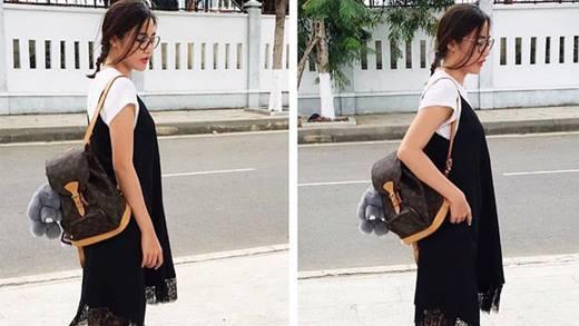 Phối áo thun đơn giản trong mùa nắng nóng đẹp như sao Việt