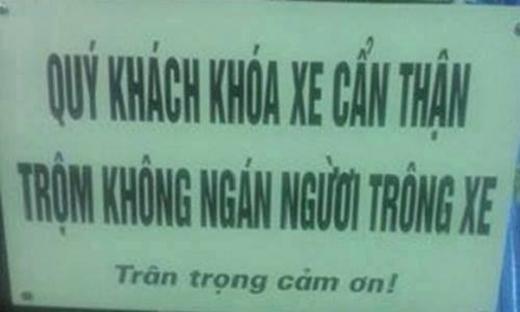 Trộm chả ngán ai cả!(Ảnh: Internet)