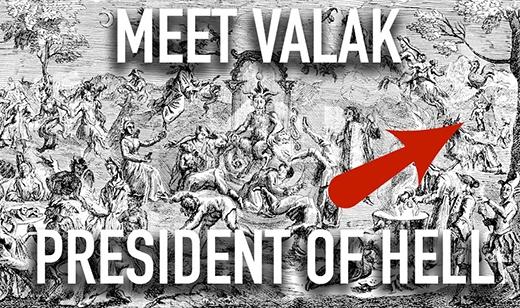 Valak - chúa tể của địa ngục. (Ảnh: Internet)