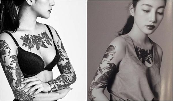 Không rời mắt vẻ đẹp khó cưỡng của nữ thợ xăm nóng bỏng xứ Hàn