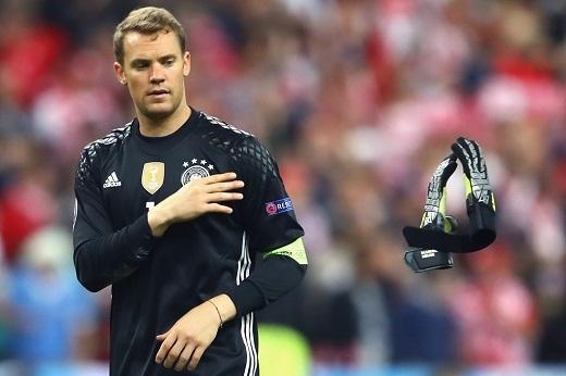 Thủ môn Neuer không hài lòng khi ĐT Đức chỉ có 1 điểm sau trận hòa 0-0 với Ba Lan ở lượthai bảng C Euro 2016.