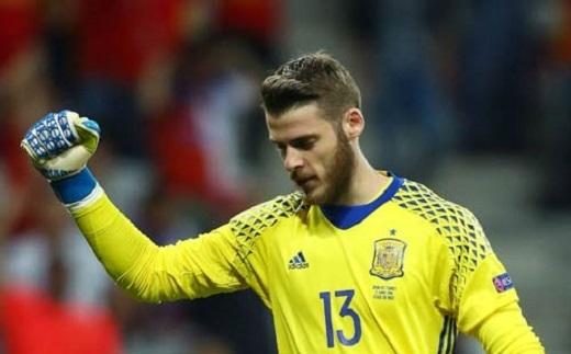 De Gea đã có 5 trận liên tiếp giữ sạch lưới cho Tây Ban Nha ở các trận đấu chính thức
