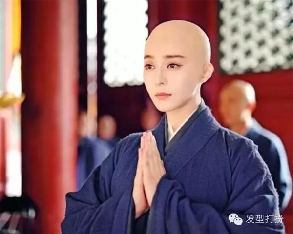 Bí mật đằng sau những cảnh trọc đầu của mĩ nhân Hoa ngữ