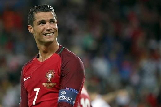 Ronaldo đã thể hiện một hình ảnh bạc nhược trong suốt trận đấu