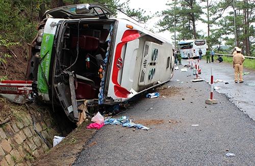 Vụ tai nạn làm 7người thiệt mạng, 1 người chết não. Ảnh: Internet