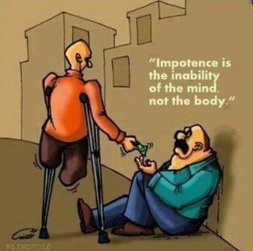 Tàn tật là bất lực về trí tuệ chứ không phải thể xác.