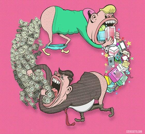 Kiếm tiền bằng cách bẩn thỉu thì đồng tiền cũng bẩn thỉu theo.