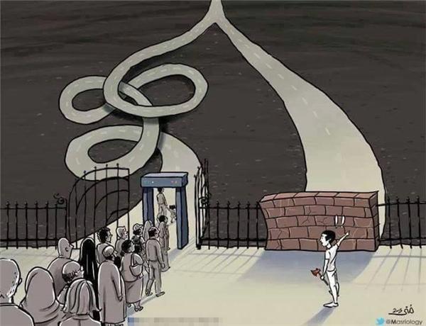 Cùng một mục tiêu như nhau nhưng người ta thường chọn con đường xa hơn vì họ không dám phá bỏ rào cản trước mắt.