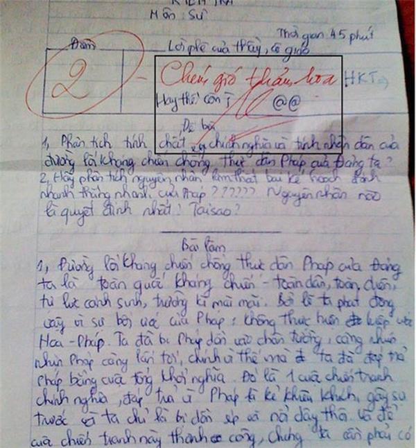 """Cô giáo cũng biết """"chém gió"""" với """"thảm họa"""" luôn nhé. (Ảnh: Internet)"""