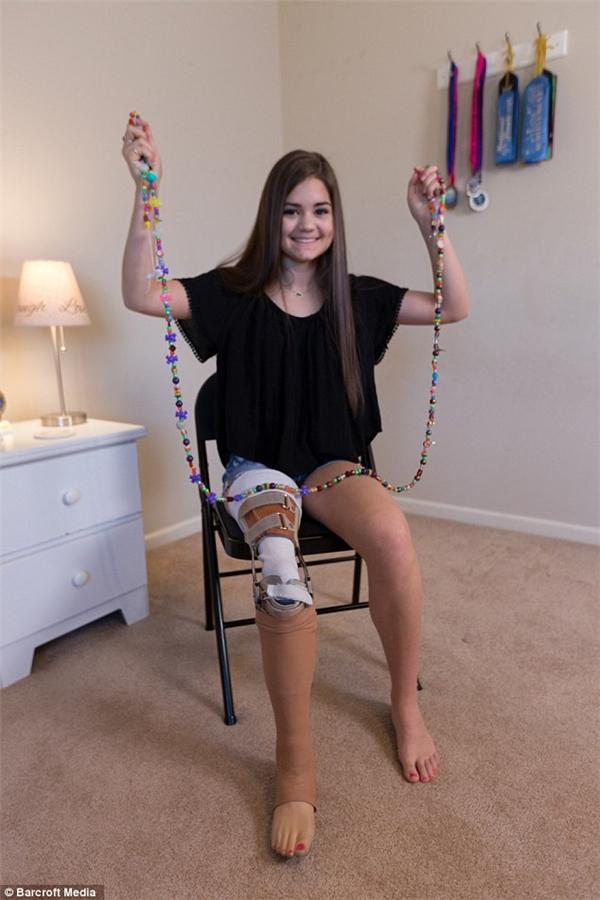 Phương pháp phẫu thuật này giúp Gabi có thể di chuyển trong điều kiện thuận lợi nhất.