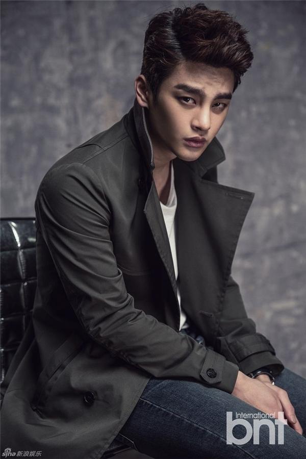 Tính cách vượt khó và nghị lực của Seo In Guk đã làm không biết bao nhiêutrái tim người hâm mộ tan chảy.(Ảnh: Internet)