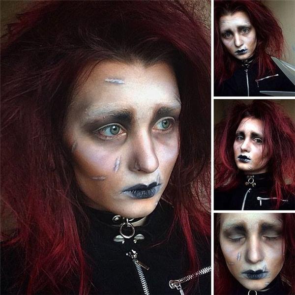 Rợn người trước sự hóa trang của cô gái đáng sợ hơn cả The Conjuring