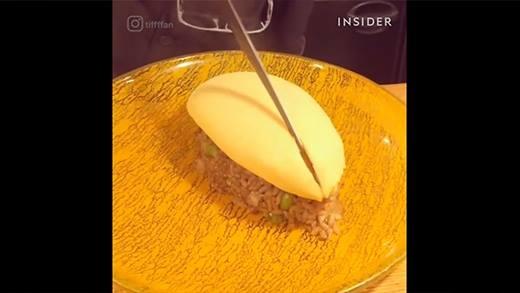 Đây là món cơm trứng chiên Nhật Bản khiến cả thế giới phải kinh ngạc