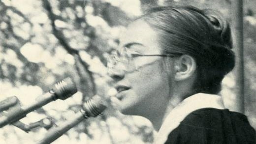 Tiết lộ hình ảnh thời trẻ của nữ chính trị gia nổi tiếng nhất thế giới