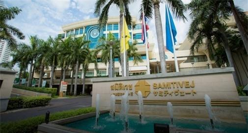Bệnh viện Samitivej Sukhumvit làmột trong những bệnh viện tốt nhất Thái Lan.