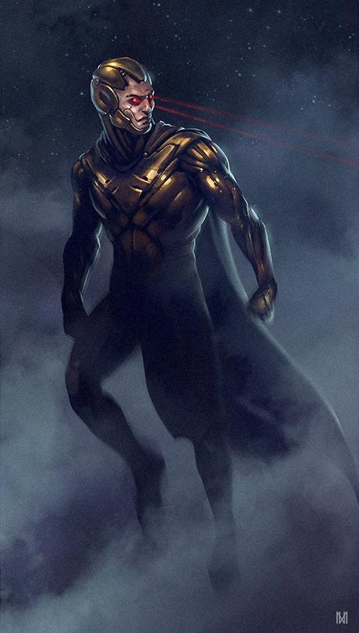 Nếu mang ngoại hình này, Siêu nhân đã hoàn toàn lột xác, không còn hơi hướnggì của anh chàng áo bó quần sịp ngày xưa nữa. (Ảnh: Norbface)