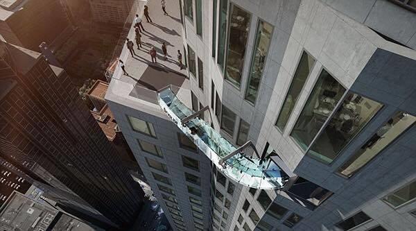 Nằm ở độ cao 305m so với mặt đất, Skyline là một phần của dự ánSkyspace LA. (Ảnh: Internet)