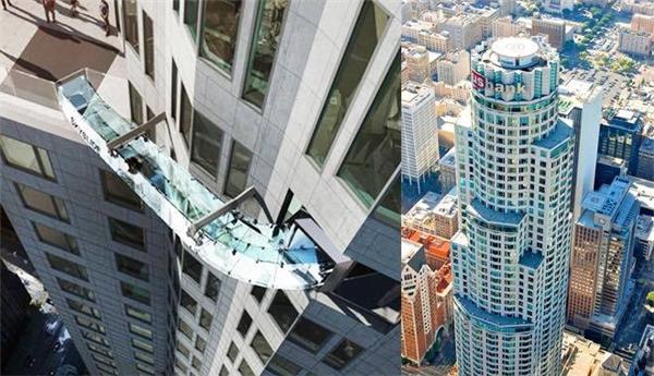Thang trượt Skyline - trò chơi dành cho người thích cảm giác mạnh và không sợ độ cao. (Ảnh: Internet)