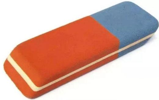 Có phải bạn cũng từng nghĩ phần màu xanh có thể tẩy được mực của bút bi? (Ảnh: Internet)