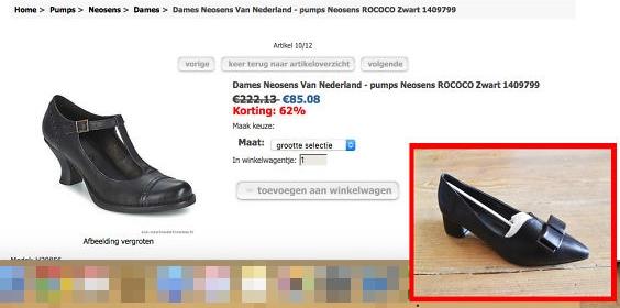 Người bán ra đây mà xem hai chiếc giày này nó giống nhau ở chỗ nào ngoài việc cùng là giày không nhé!? (Ảnh: Internet)