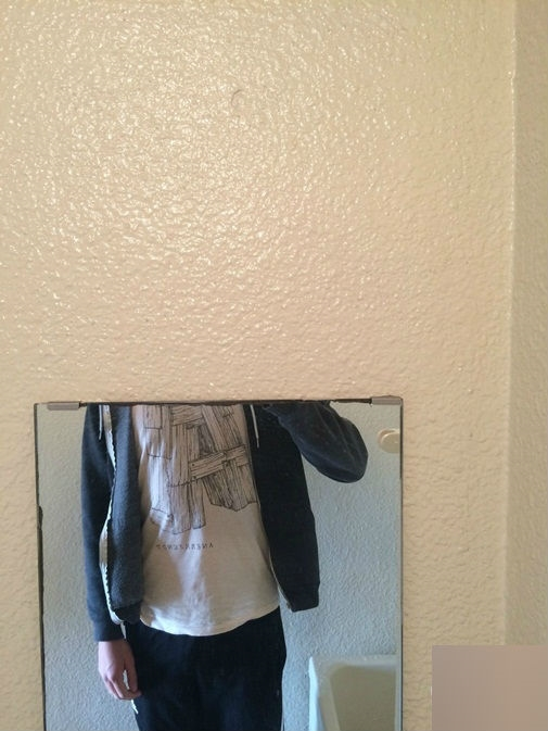 Gương là để soi mặt cơ mà?