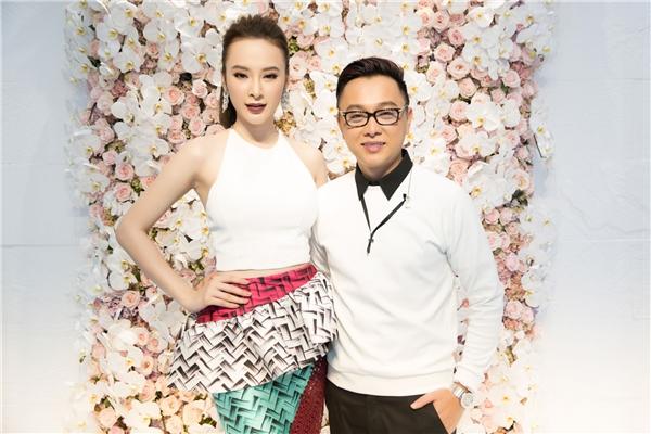 Angela Phương Trinh và nhà thiết kế Công Trí