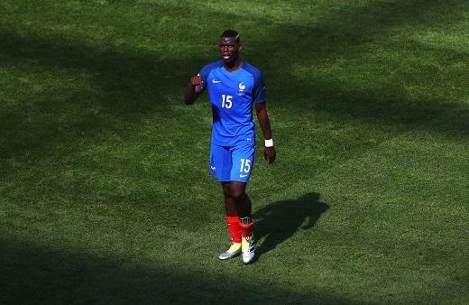 Paul Pogba không thể hiện được gì nhiều trong 4 trận đấu vừa qua