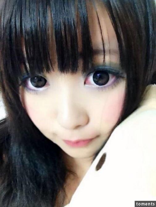 Hot girl Mizuyo nổi tiếng nhờ dáng vẻ dễ thương, đôi mắt to tròn và làn da trắng sáng.
