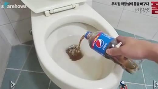 Học người Hàn cách làm sạch nhà vệ sinh cực hữu ích