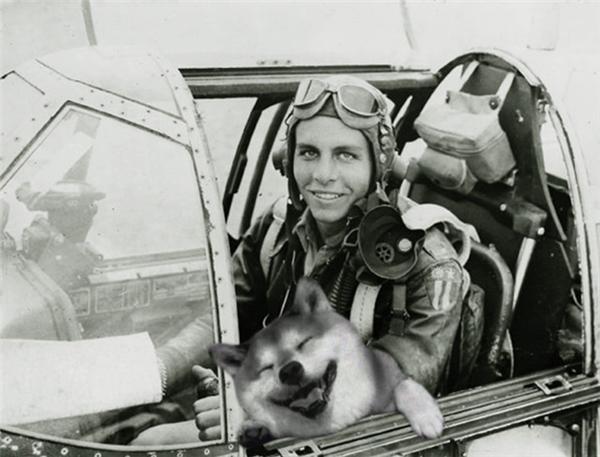 Một ngày đẹp trời, anh leo lên máy bay đi vòng quanh thế giới.