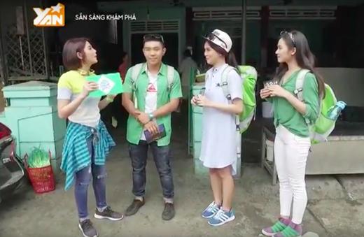 VJ Phương Linh là người sẽ đồng hành cùng Siro Xanh vả cả hai đội chơi còn lại trong suốt chương trình.