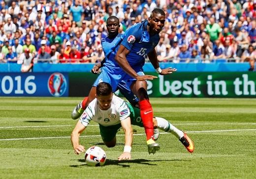 Paul Pogba vẫn chưa thể hiện được gì nhiều ở VCK EURO 2016