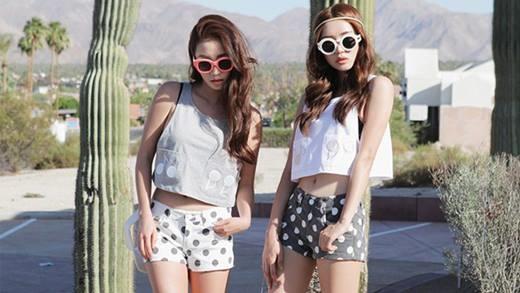 Gợi ý những kiểu quần short vừa mát vừa đẹp đi chơi hè
