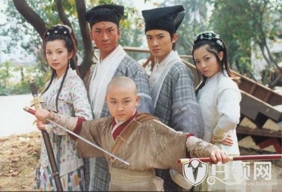 Trong dàn sao năm xưa, Lý Băng Băng và Nhậm Tuyền đã phát triển mạnh. Châu Kiệt và Thích Tiểu Long tuột dốc đáng kể. Ảnh: 86kx.