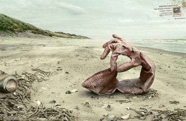 Biển cả không phải là bãi rác, và nó cũng không thể tự mình dọn rác.