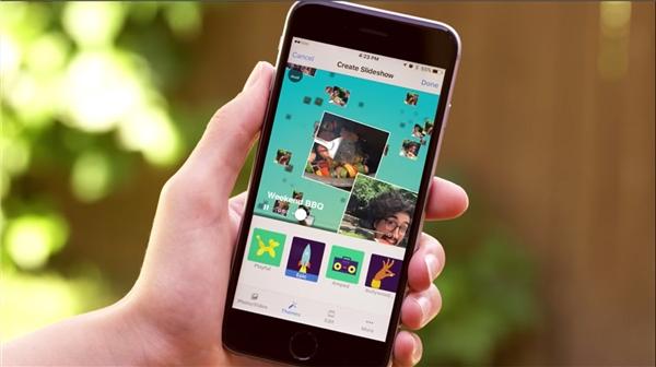 Tính năng slideshow lôi cuốn người dùng FB đăng tải hình ảnh, video