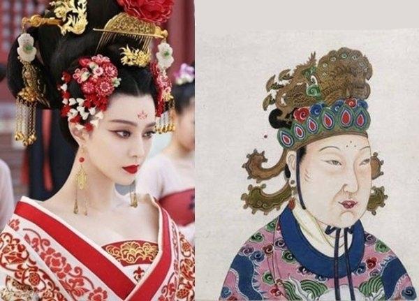 Võ Tắc Thiên, từ một tài nhân ngũ phẩm của Đường Thái Tông Lý Thế Dânđã vươn lên thành Hoàng hậu của Đường Cao Tông Lý Trịđể rồi soán ngôi nhà Đường, lập ra triều đại Võ Chu. (Ảnh: Internet)