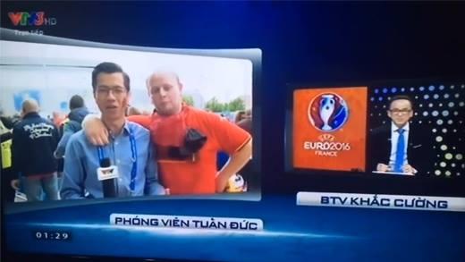 Tường thuật Euro 2016, phóng viên Việt Nam bị
