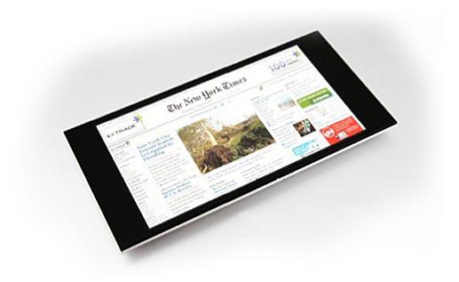 Một mẫu thiết kế tận dụng tối đa diện tích hiển thị của màn hình, ngay cả nút Home cũng bị loại bỏ.(Ảnh: Internet)