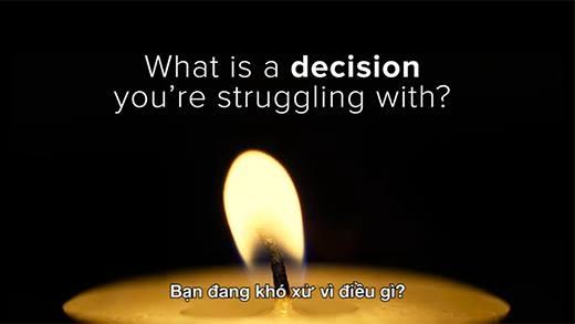 Đây là bài trắc nghiệm sẽ giúp bạn đưa ra những quyết định đúng đắn