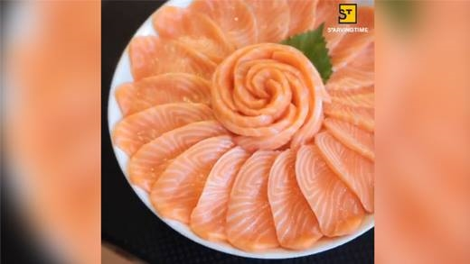 Đây là đoạn clip sẽ khiến các tín đồ sushi