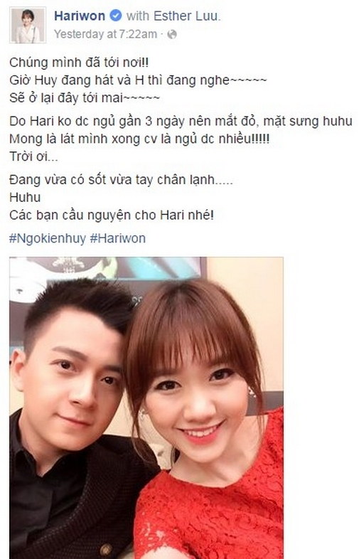 Thiếu Trấn Thành, Hari Won buồn bã đến…tự kỉ - Tin sao Viet - Tin tuc sao Viet - Scandal sao Viet - Tin tuc cua Sao - Tin cua Sao