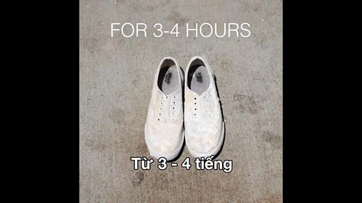 Hô biến giày cũ thành mới trong 3 phút từ công thức đặc biệt