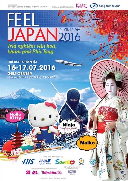 """Xem gì ở """"Cảm nhận Nhật Bản 2016""""?"""