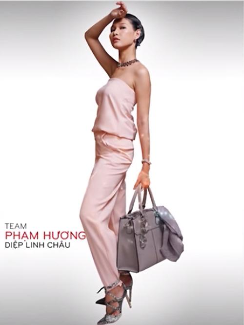 Sau 3 vòng đấu, chiến thắng cuối cùng thuộc về thí sinh Diệp Linh Châu đội Hoa hậu Hoàn vũ Việt Nam 2015 Phạm Hương.
