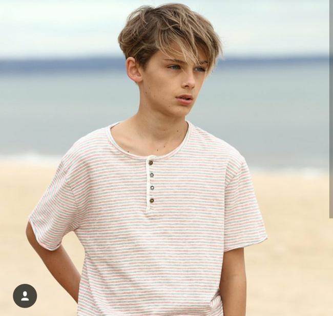 Đôi mắt hút hồn của nam thần nước Úc 13 tuổi gây sốt toàn châu Á