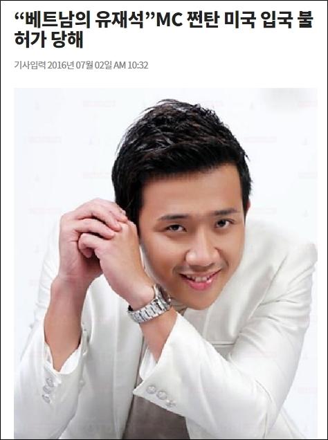 Mở đầu bài báo, Trấn Thành được tác giảgiới thiệu là bạn trai của nữ nghệ sĩ Hàn Quốc đang hoạt động nghệ thuật ở Việt Nam, chính là Hari Won. - Tin sao Viet - Tin tuc sao Viet - Scandal sao Viet - Tin tuc cua Sao - Tin cua Sao